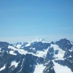 Glacier Peak and a hint of Mt. Adams