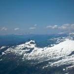 Down Eldorado's west ridge