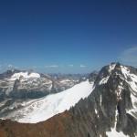 Horseshoe peak and Buckner